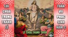 BẢN VĂN BÀI ĐỌC LỄ THĂNG THIÊN và TUẦN 7 PHỤC SINH – NĂM C