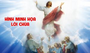 Hình minh họa Lời Chúa Tuần Lễ Chúa Thăng Thiên