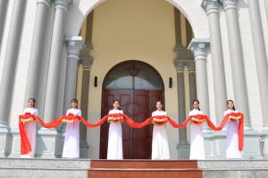 Video: Gx. Hồ Tràm: Nghi thức cung hiến thánh đường và thánh lễ tạ ơn