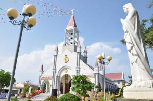Gx. Hồ Tràm: Nghi thức cung hiến thánh đường và thánh lễ tạ ơn