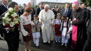 ĐTC gặp gỡ các bạn trẻ và các gia đình tại thành phố Iasi, Rumani