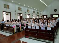 Tin ảnh: Gx. Vinh Châu: Giới Thiếu Nhi mừng lễ bổn mạng và Tuyên hứa Bao Đồng