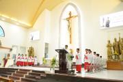 Gx. Láng Cát: Mừng lễ Thánh Đaminh Savio- Bổn mạng Lễ sinh
