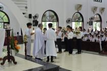 Tin Ảnh: Gx. Tân Phước: Thánh lễ ban Bí tích Thánh Thể lần đầu