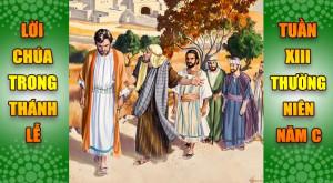 BẢN VĂN BÀI ĐỌC TRONG THÁNH LỄ TUẦN XIII THƯỜNG NIÊN – NĂM C