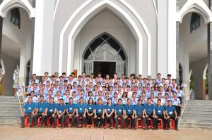 Gx. Hòa Sơn: Khóa huấn luyện Giáo lý viên cấp II Hạt Xuyên Mộc