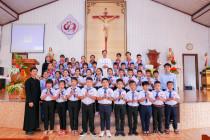 Tin ảnh: Gx. Phước Chí: Thánh lễ rước lễ lần đầu, Tuyên hứa bao đồng và phong nhậm giáo lý viên