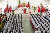 Giáo xứ Hòa Phước: Thánh lễ ban Bí Tích Thêm Sức