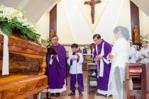 Gx. Hòa An: Thánh lễ an táng Bà cố Maria Lý Thị Cải - Thân mẫu Lm. Phêrô Nguyễn Minh Hùng
