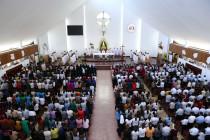 Đền Thánh Đức Mẹ Bãi Dâu: Thánh lễ đầu tháng 07.2019 tôn kính Mẹ Maria