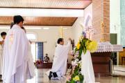 Tin Ảnh: Gx. Phước Tân: Thánh lễ khai mạc ngày Chầu Thánh Thể thay Giáo phận 2019