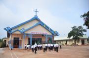 Tin ảnh: Gx. Phước Chí chầu Thánh Thể thay giáo phận