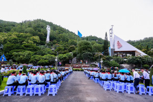 Đền Thánh Đức Mẹ Bãi Dâu: Đại lễ kính Chân phước Anrê Phú Yên - Bổn mạng GLV Giáo phận Bà Rịa