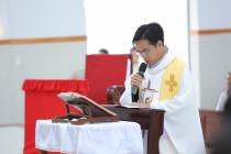Gx. Hòa Sơn: Chào đón Cha Tân Chánh xứ Giuse Vũ Đức Thịnh