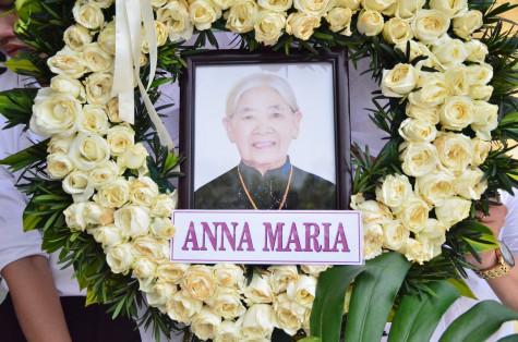 Tin ảnh: Gx. Bắc Thần: Thánh lễ an táng Bà cố Anna Maria Nguyễn Thị Bằng