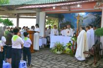 Tin Ảnh: Núi Chúa Kitô Vua – Tao Phùng: Thánh lễ hành hương ngày Thứ Sáu đầu tháng 08.2019