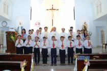Tin Ảnh: GHBL. Thanh An: Thánh lễ mừng bổn mạng Giáo họ và Rước lễ lần đầu
