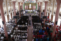 Thánh lễ kỷ niệm 90 năm hồng ân Dòng Phanxicô hiện diện trên đất Việt