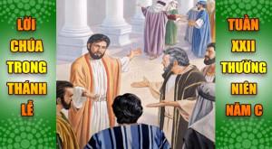 BẢN VĂN BÀI ĐỌC TRONG THÁNH LỄ TUẦN XXII THƯỜNG NIÊN – NĂM C