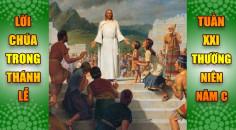 BẢN VĂN BÀI ĐỌC TRONG THÁNH LỄ TUẦN XXI THƯỜNG NIÊN – NĂM C