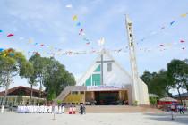 Gx. Hòa An: Thánh lễ tạ ơn mừng ngân khánh thành lập giáo xứ