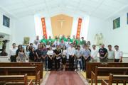 Gx. Tân Châu: Đức cha Emmanuel dâng lễ cùng cộng đoàn người ngoại quốc