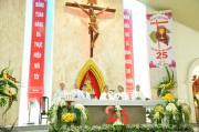 Gx. Lam Sơn: Thánh lễ tạ ơn mừng ngân khánh linh mục Cha Chánh xứ Đaminh Phạm Đình Hảo