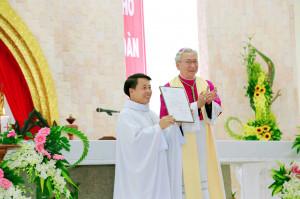 Gx. Lam Sơn: Đón chào Cha Tân Chánh xứ Giuse Vũ Văn Hoàng