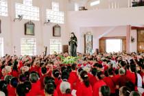 Gx. Chu Hải: Cộng đoàn Lòng Chúa Thương Xót Giáo phận Bà Rịa mừng lễ Bổn mạng