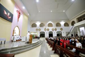 Tin Ảnh: Gx. Ngãi Giao: Thánh lễ tạ ơn mừng hồng ân 22 năm linh mục của Cha Chánh xứ