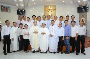 Gx. Hồ Tràm: Ban Truyền thông Hạt Xuyên Mộc mừng lễ Thánh Thiên thần Bổn mạng