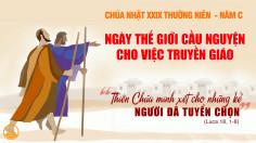 Tóm tắt và học hỏi sứ điệp ngày Thế giới Truyền giáo 2019 của Đức Thánh Cha Phanxicô