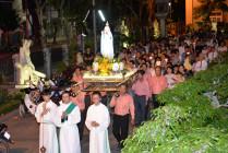 Tin Ảnh: Gx. Chánh Tòa Bà Rịa: Rước kiệu tôn vinh Mẹ Maria cuối tháng Mân Côi