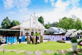 Gx. Long Tân: Thánh lễ tạ ơn mừng thành lập Giáo xứ