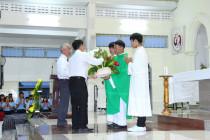 Tin Ảnh: Gx. Lam Sơn: Thánh lễ tạ ơn và tri ân Cha Chánh xứ