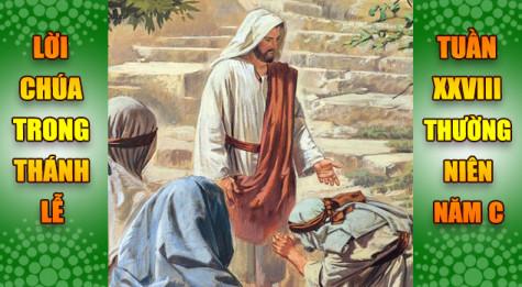 BẢN VĂN BÀI ĐỌC TRONG THÁNH LỄ  TUẦN XXVIII THƯỜNG NIÊN – NĂM C