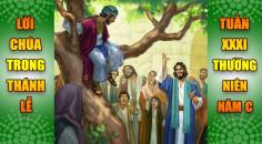 BẢN VĂN BÀI ĐỌC TRONG THÁNH LỄ TUẦN XXXI THƯỜNG NIÊN – NĂM C