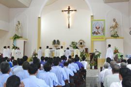 Gx. Văn Côi:  Mừng lễ Mẹ Mân Côi bổn mạng Giáo xứ và chầu thay Giáo phận
