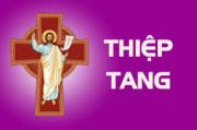 THIỆP TANG ÔNG CỐ GIOAKIM ĐỖ VĂN TIẾN (Thân phụ Cha Giuse Đỗ Đức Hiện-Chánh xứ Hữu Phước)
