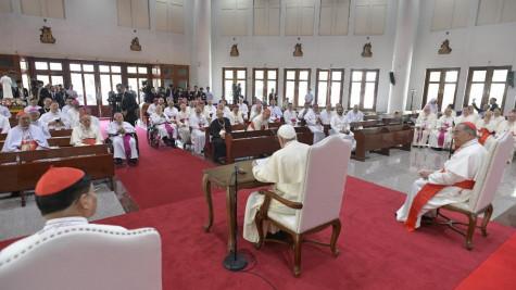 ĐTC gặp các Giám mục Thái Lan và Liên hội đồng Giám mục Á châu