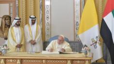 Đức Thánh Cha và thái tử Abu Dhabi ký tuyên ngôn chung về sức khỏe toàn cầu