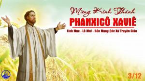 03.12.2019 - Thánh Phanxicô Saviê, linh mục