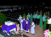 Gx. Vinh Châu: Thánh lễ tại nghĩa trang Thai Nhi