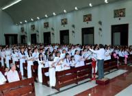 Tin Ảnh: Gx. Vinh Châu: Ca- nhạc đoàn giáo xứ mừng lễ bổn mạng