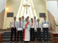 Tin Ảnh: Gx. Vinh Trung: Mừng lễ Các Thánh Tử Đạo Việt Nam- Bổn mạng Giới trẻ giáo xứ