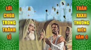 BẢN VĂN BÀI ĐỌC TRONG THÁNH LỄ TUẦN XXXII THƯỜNG NIÊN – NĂM C