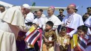 Đức Giáo hoàng đến Thái Lan bắt đầu Hành trình tông đồ thứ 32