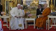 ĐTC Phanxicô thăm Đức Tăng Thống của Phật giáo