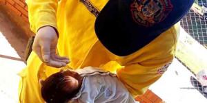 Một em bé được cứu sống nhờ Rửa tội nguy tử