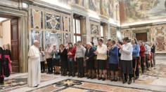 Đức Thánh Cha tiếp các nữ cộng sự viên giáo phận Milano